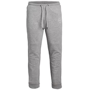 Îmbracaminte Băieți Pantaloni de trening Jack & Jones JJIGORDON JJSHARK SWEAT PANT Gri