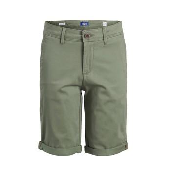 Îmbracaminte Băieți Pantaloni scurti și Bermuda Jack & Jones JJIBOWIE JJSHORTS Bej