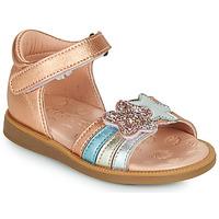 Pantofi Fete Sandale  Acebo's 1228-RAME Bronz