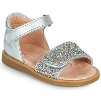 Pantofi Fete Sandale  Acebo's 1232-PLATA Argintiu