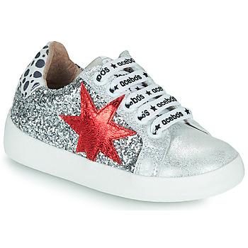 Pantofi Fete Pantofi sport Casual Acebo's 5461GL-PLATA-C Argintiu