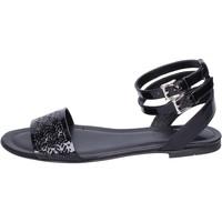 Pantofi Femei Sandale  Hogan BK657 Negru