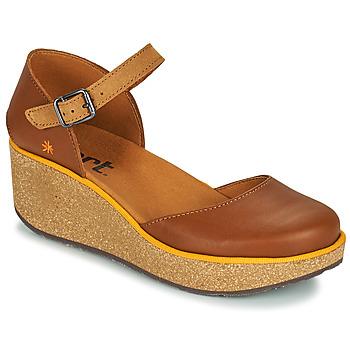 Pantofi Femei Papuci de vară Art PARMA Maro
