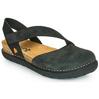 Pantofi Femei Balerin și Balerini cu curea Art RHODES Negru