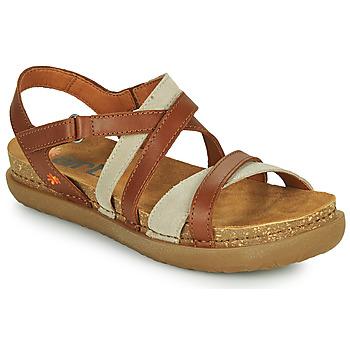 Pantofi Femei Sandale  Art RHODES Maro