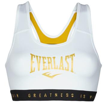 Îmbracaminte Femei Bustiere sport Everlast EVL BRAND BR Alb / Auriu