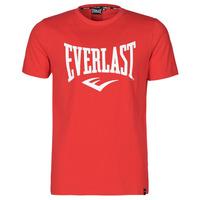 Îmbracaminte Bărbați Tricouri mânecă scurtă Everlast EVL- BASIC TEE-RUSSEL Roșu