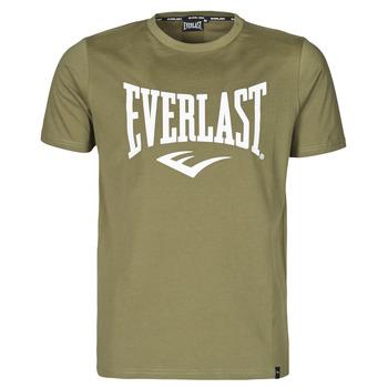 Îmbracaminte Bărbați Tricouri mânecă scurtă Everlast EVL- BASIC TEE-RUSSEL Khaki