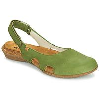 Pantofi Femei Sandale  El Naturalista WAKATAUA Verde