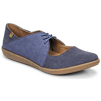 Pantofi Femei Balerin și Balerini cu curea El Naturalista CORAL Albastru