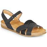 Pantofi Femei Sandale  El Naturalista ZUMAIA Negru