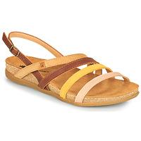 Pantofi Femei Sandale  El Naturalista ZUMAIA Maro / Galben / Roz