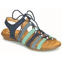 Pantofi Femei Sandale  El Naturalista WAKATAUA Albastru