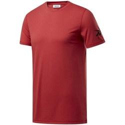Îmbracaminte Bărbați Tricouri mânecă scurtă Reebok Sport Wor WE Commercial Tee Vișiniu