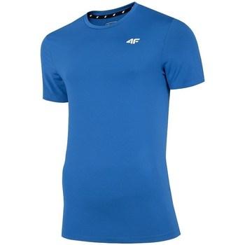 Îmbracaminte Bărbați Tricouri mânecă scurtă 4F TSMF002 Albastre