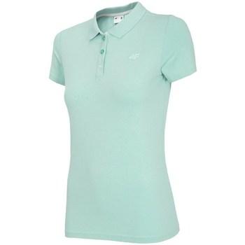 Îmbracaminte Femei Tricou Polo mânecă scurtă 4F TSD008 Verde