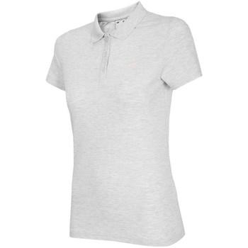 Îmbracaminte Femei Tricou Polo mânecă scurtă 4F TSD007 Alb