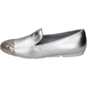 Pantofi Femei Mocasini Hogan BK669 Argint