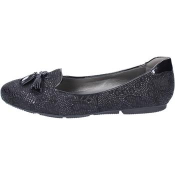 Pantofi Femei Balerin și Balerini cu curea Hogan Mocasini BK670 Negru