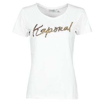 Îmbracaminte Femei Tricouri mânecă scurtă Kaporal PETER Alb