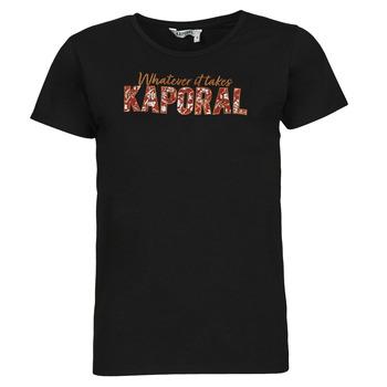 Îmbracaminte Femei Tricouri mânecă scurtă Kaporal PENIN Negru