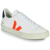 Pantofi Pantofi sport Casual Veja CAMPO Alb / Portocaliu / Albastru