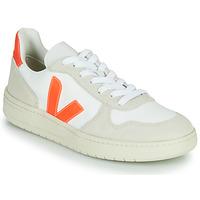 Pantofi Pantofi sport Casual Veja V-10 Alb / Portocaliu