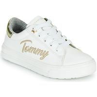 Pantofi Fete Pantofi sport Casual Tommy Hilfiger SOFI Alb