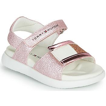 Pantofi Fete Sandale  Tommy Hilfiger EMIA Roz