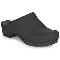 Pantofi Femei Saboti Sanita CHRISSY Negru