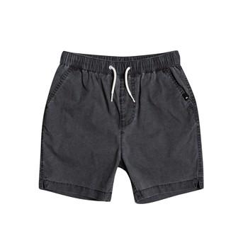 Îmbracaminte Băieți Pantaloni scurti și Bermuda Quiksilver TAXER WS Negru