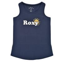 Îmbracaminte Fete Maiouri și Tricouri fără mânecă Roxy THERE IS LIFE FOIL Albastru