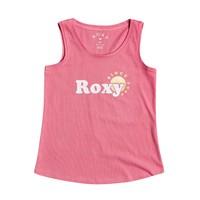 Îmbracaminte Fete Maiouri și Tricouri fără mânecă Roxy THERE IS LIFE FOIL Roz