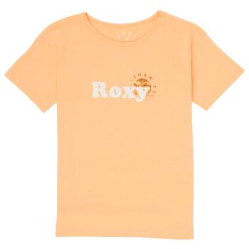 Îmbracaminte Fete Tricouri mânecă scurtă Roxy DAY AND NIGHT FOIL Roz