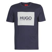 Îmbracaminte Bărbați Tricouri mânecă scurtă HUGO DOLIVE Albastru