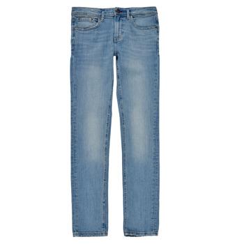 Îmbracaminte Băieți Jeans skinny Teddy Smith FLASH Albastru