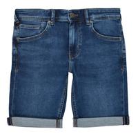 Îmbracaminte Băieți Pantaloni scurti și Bermuda Teddy Smith SCOTTY 3 Albastru / Culoare închisă