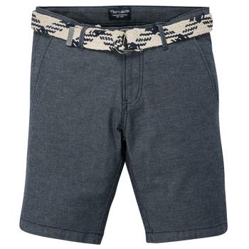 Îmbracaminte Băieți Pantaloni scurti și Bermuda Teddy Smith STATON CHINO Albastru