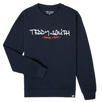 Îmbracaminte Băieți Hanorace  Teddy Smith S-MICKE Albastru