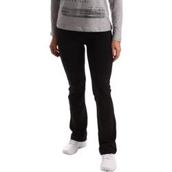 Îmbracaminte Femei Pantaloni de trening Key Up 5LI20 0001 Negru