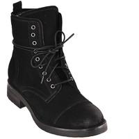 Pantofi Femei Botine Mally 5038 Negru