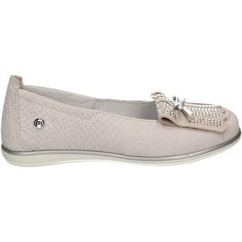 Pantofi Copii Balerin și Balerini cu curea Melania ME2056D7E.A Alb