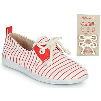 Pantofi Copii Pantofi sport Casual Armistice STONE ONE Alb / Roșu