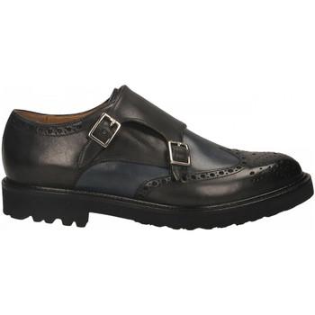 Pantofi Bărbați Mocasini Brecos VITELLO grigio-azzurro