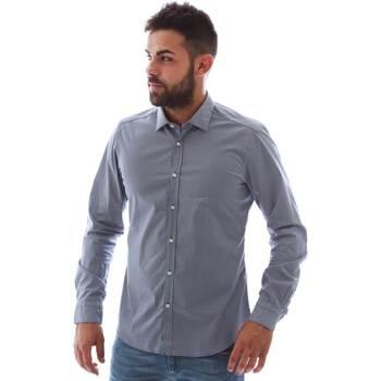 Îmbracaminte Bărbați Cămăsi mânecă lungă Gmf 961146/2 Albastru