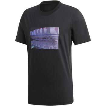 Îmbracaminte Bărbați Tricouri mânecă scurtă adidas Originals DV2015 Negru