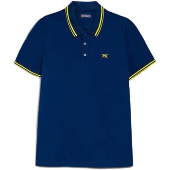 Îmbracaminte Bărbați Tricou Polo mânecă scurtă Nero Giardini E072370U Albastru