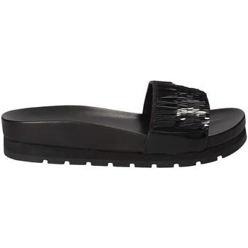 Pantofi Femei Papuci de vară Apepazza MMI02 Negru