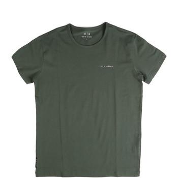 Îmbracaminte Bărbați Tricouri mânecă scurtă Key Up 2G69S 0001 Verde