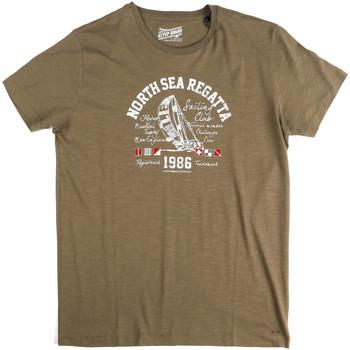 Îmbracaminte Bărbați Tricouri mânecă scurtă Key Up 2G78S 0001 Verde
